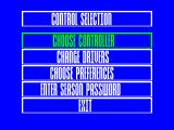 Nigel Mansell's World Championship Racing ZX Spectrum Options galore