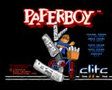 Paperboy Amiga Title Screen