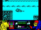 Wacky Races ZX Spectrum Obstacle gone ... but failed the jump