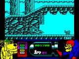 Wacky Races ZX Spectrum I took the high road and had to reverse back down. dastardly does not change direction, just moves slowly backwards