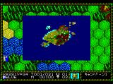 Master of Monsters TurboGrafx CD Viewing the entire map
