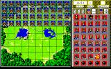 Stratego PC-98 Before the battle: place your pieces strategically