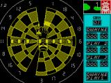 Bully's Sporting Darts ZX Spectrum Golf : just starting. Note how the numbers 19 & 20 do not appear