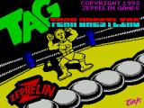 American Tag-Team Wrestling ZX Spectrum Load screen
