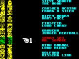 American Tag-Team Wrestling ZX Spectrum Selection of opponents