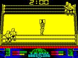 American Tag-Team Wrestling ZX Spectrum I like the cute figure parading the number of the round. Nice touch