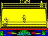 American Tag-Team Wrestling ZX Spectrum Into my corner to make a switch