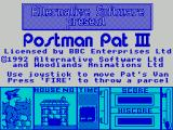 Postman Pat 3: To the Rescue ZX Spectrum Load screen