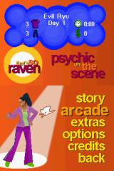 That's So Raven: Psychic on the Scene Nintendo DS Menu screen.
