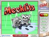 Meeklits Windows Title screen and main menu