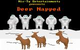 Deer Napped DOS Title Screen