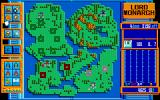 Lord Monarch PC-98 Viewing the whole map