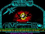 G-Loc Air Battle ZX Spectrum Load screen