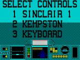 G-Loc Air Battle ZX Spectrum ... and you get to choose your controls.