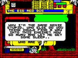 Wild West Seymour ZX Spectrum Talking to the bus,