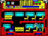 Wild West Seymour ZX Spectrum On the bus. After talking to Pete, who's mysteriously hurt his arm, Seymour gets a camera and a quest - find Pete's film & battery