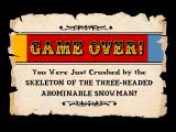 The Residents' Bad Day on the Midway Macintosh Game over - well that didn't work