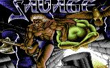 Savage Commodore 64 Title Screen