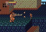 Golden Axe III Genesis Bloody Street: every now and then you can make a decision about your route