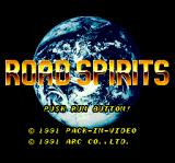 Road Spirits TurboGrafx CD Title screen