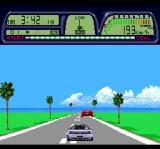 Road Spirits TurboGrafx CD Be careful not to hit that red car