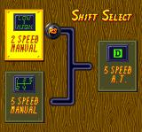 Road Spirits TurboGrafx CD Shift select