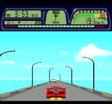 Road Spirits TurboGrafx CD This race takes place on the dam