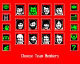 A Question of Sport BBC Micro Choosing your team members
