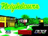 Neighbours ZX Spectrum Load screen