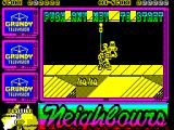 Neighbours ZX Spectrum The game starts here