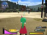 Higurashi Daybreak Windows Mion is firing her watergun