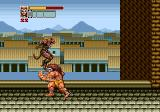 Golden Axe III Genesis Cursed City: bossfight against the cursed version of the panther