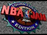NBA Jam Tournament Edition SEGA 32X Title screen