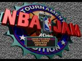 NBA Jam Tournament Edition SEGA 32X Main menu