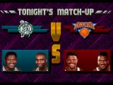 NBA Jam Tournament Edition SEGA 32X Vs. screen