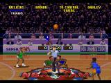 NBA Jam Tournament Edition SEGA 32X The ball was just thrown in