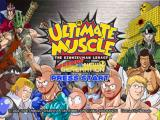 Ultimate Muscle: Legends vs. New Generation GameCube Title screen
