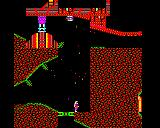 Exile BBC Micro Underneath the stranded ship: Pericles.