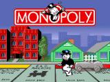 Monopoly SNES Title Screen