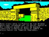 "Chichén Itzá ZX Spectrum Translates something like ""This is the Door of the Spiders which has almost been invaded by the forest. Towards the South still it is a alpaca of bordering forest ..."