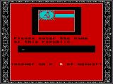 Welltris ZX Spectrum Copy protection. Get this wrong and the game must be completely reloaded