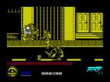 Predator 2 ZX Spectrum Whenever I shoot the predator he shoots a web thing at me