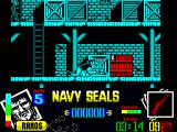 Navy Seals ZX Spectrum The crates are not background prettiness, they are obstacles that must be overcome