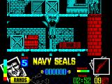 Navy Seals ZX Spectrum Climbing up to the next level is easy, staying alive once I got there wasn't