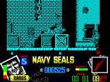 Navy Seals ZX Spectrum Got him. Now I can get off this screen.