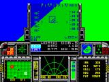 F-16 Combat Pilot ZX Spectrum I think Ihave weapons lock on something