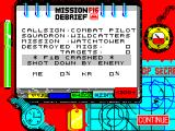 F-16 Combat Pilot ZX Spectrum This time, at least I got off the ground.