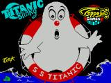 Titanic Blinky ZX Spectrum Load screen