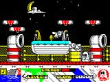 Titanic Blinky ZX Spectrum Contact with wasps also costs energy