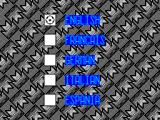 MicroLeague Action Sports Soccer ZX Spectrum Language selection